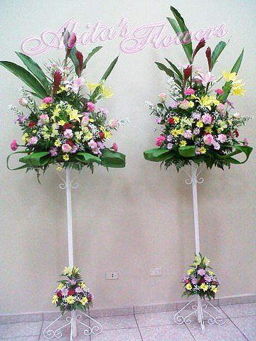 Resultado De Imagen Para Pedestales Para Flores Proyecto