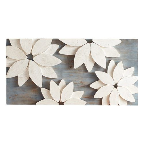 Mod Flowers Wall Decor