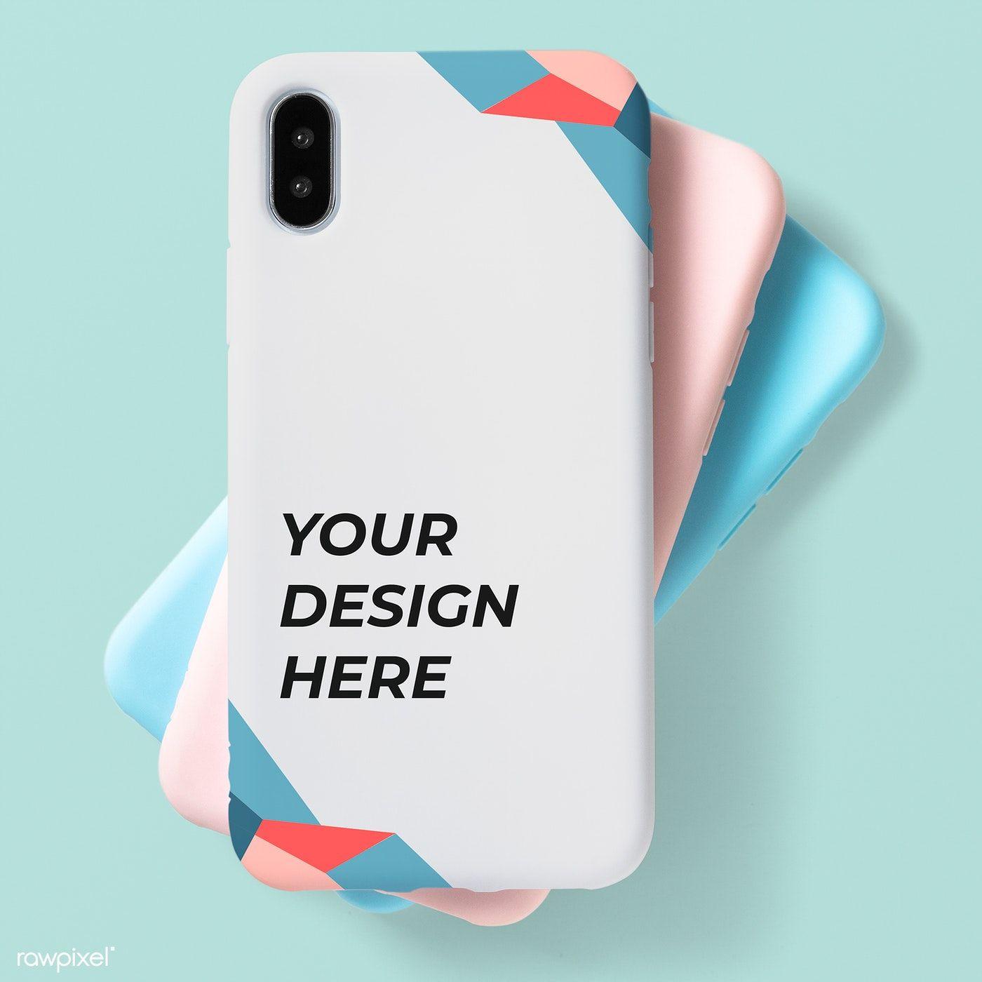Download Download Premium Psd Of Pastel Mobile Phone Case Mockup 598479 Phone Cases Mobile Phone Logo Mobile Phone