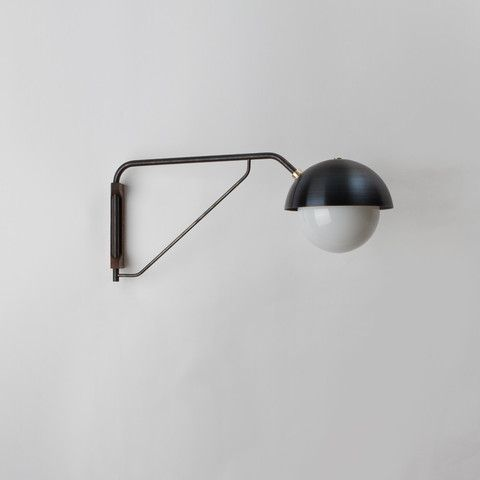 Dome wall lamp allied maker