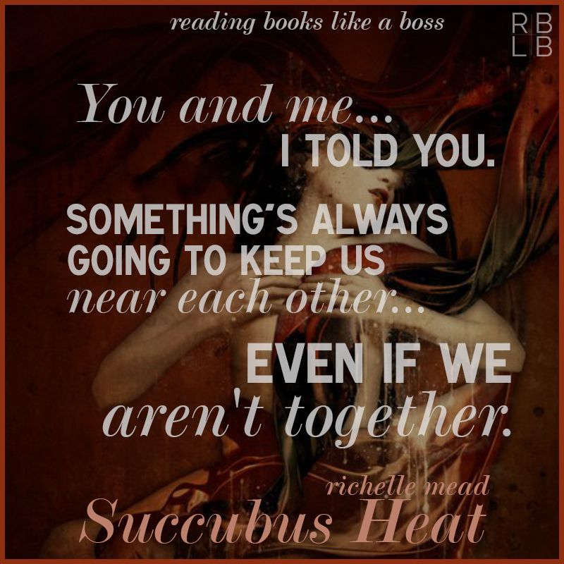 Book review succubus heat by richelle mead love facts