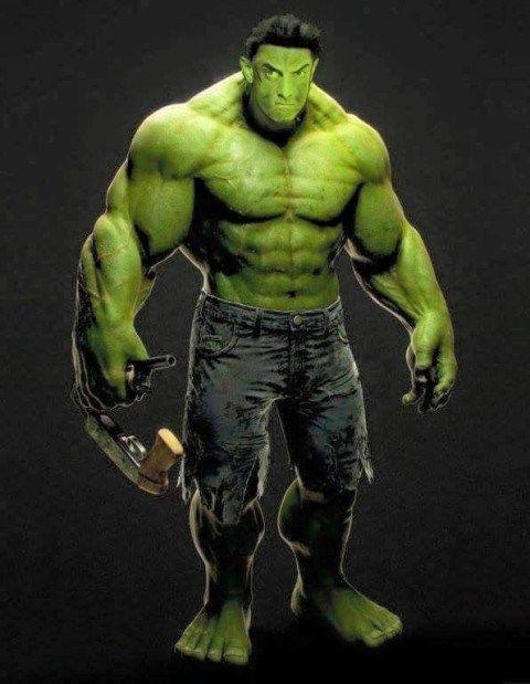 aamir khan as hulk