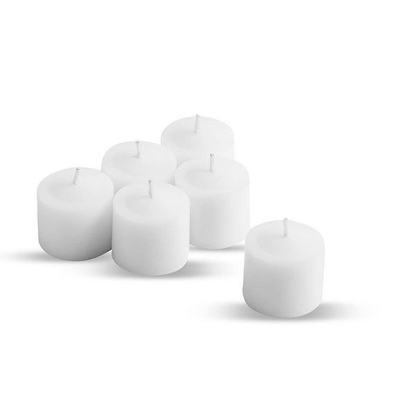 Votive Candles White Unscented | Set of 84 | Ideal for Weddings, Decorations and Parties | #whitecandleswedding