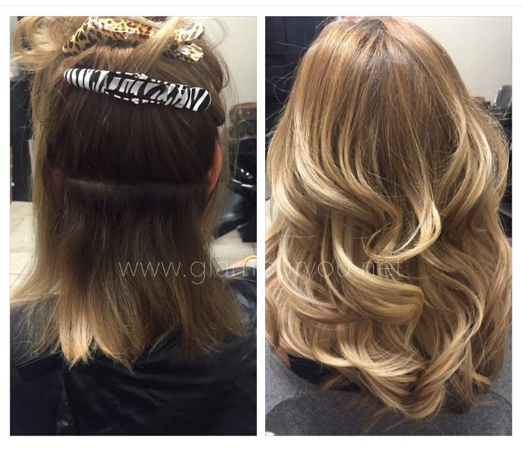 1012 Inch Hotheads Hair Extensions By Gina Suite 113 Salon Plaza