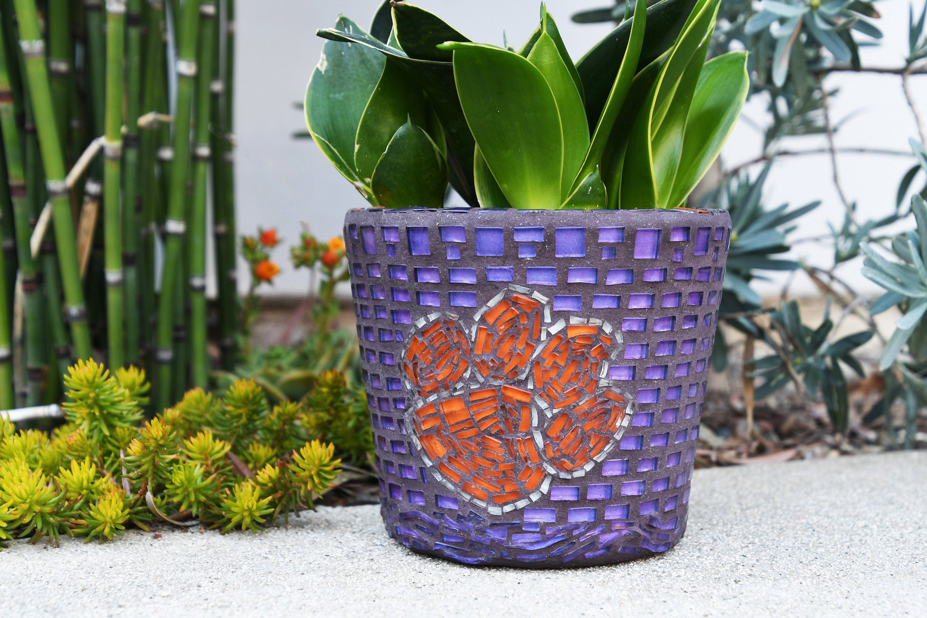 Your Place To Buy And Sell All Things Handmade Mosaic Garden Mosaic Vase Garden Pots