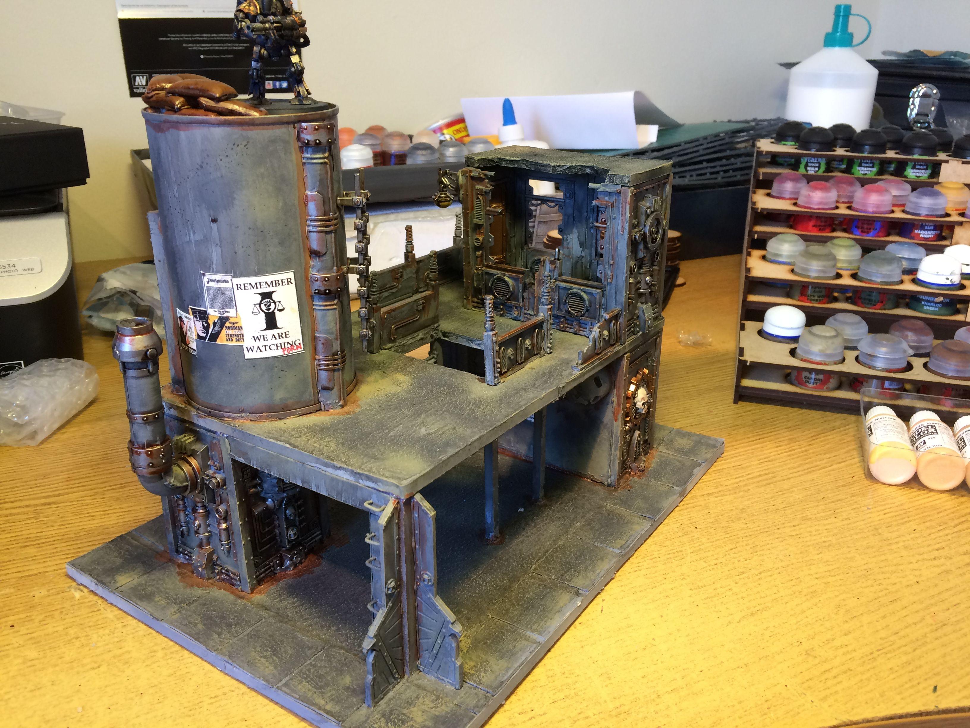 Necromunda Terrain Industrial Plant from www