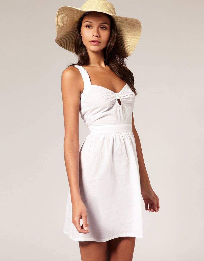 10 Best images about White Summer Dress on Pinterest - Casual ...