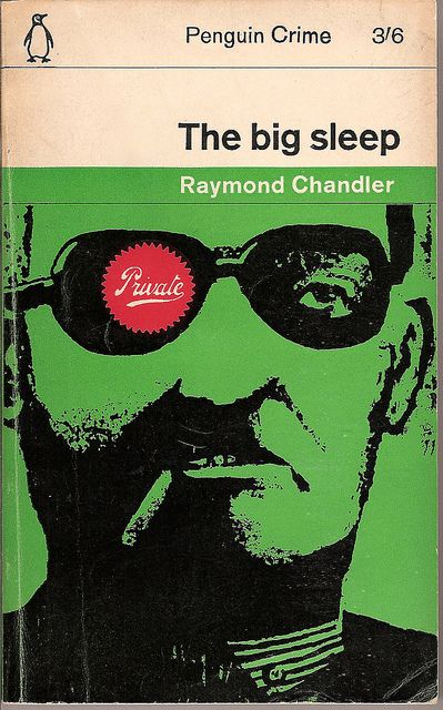 The Big Sleep Penguin Book Cover Vintage Book Covers Penguin