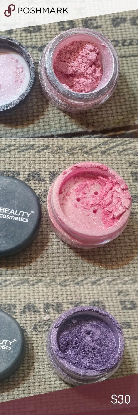 Set of 5 loose eyeshadow, amazing brands! Two Mica Beauty