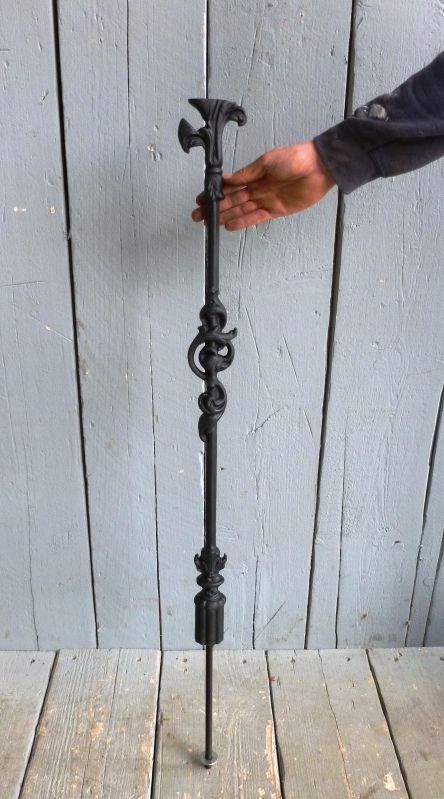 Best Cast Iron Spiral Staircase Ornate Spindle With Images 640 x 480
