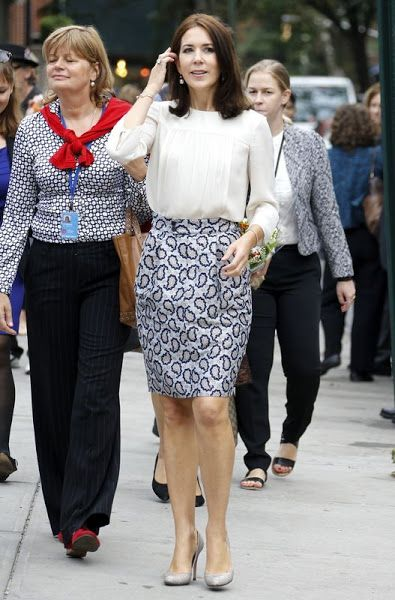 Princess Mary Working visit to New York City - Day 1