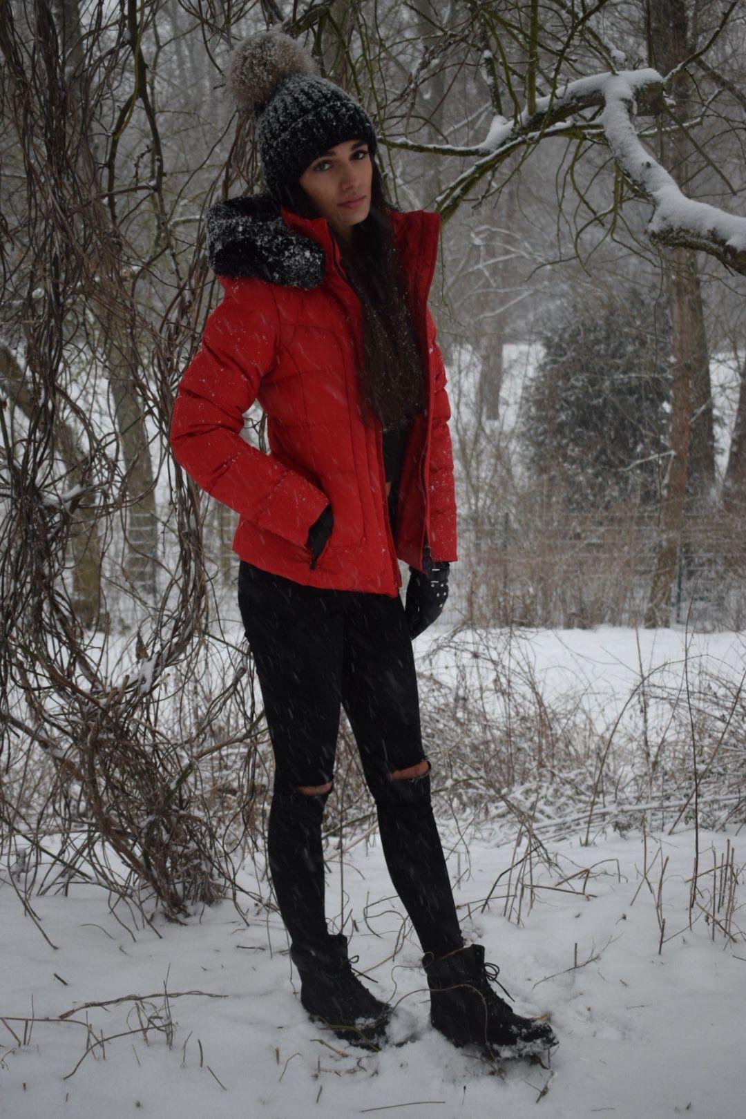 Winterzauber ❄ Wellensteyn Jacke Belvedere Short Timberland Schuhe Zara  Jeans 198bd0c6df
