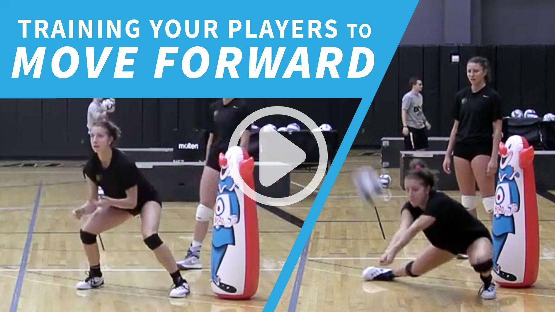 Training Players To Finish Forward Coaching Volleyball Volleyball Drills Volleyball Skills