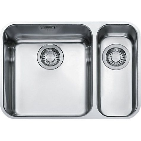 Franke Largo LAX 160 36-16 Undermounted 1.5 Bowl Kitchen Sink ...