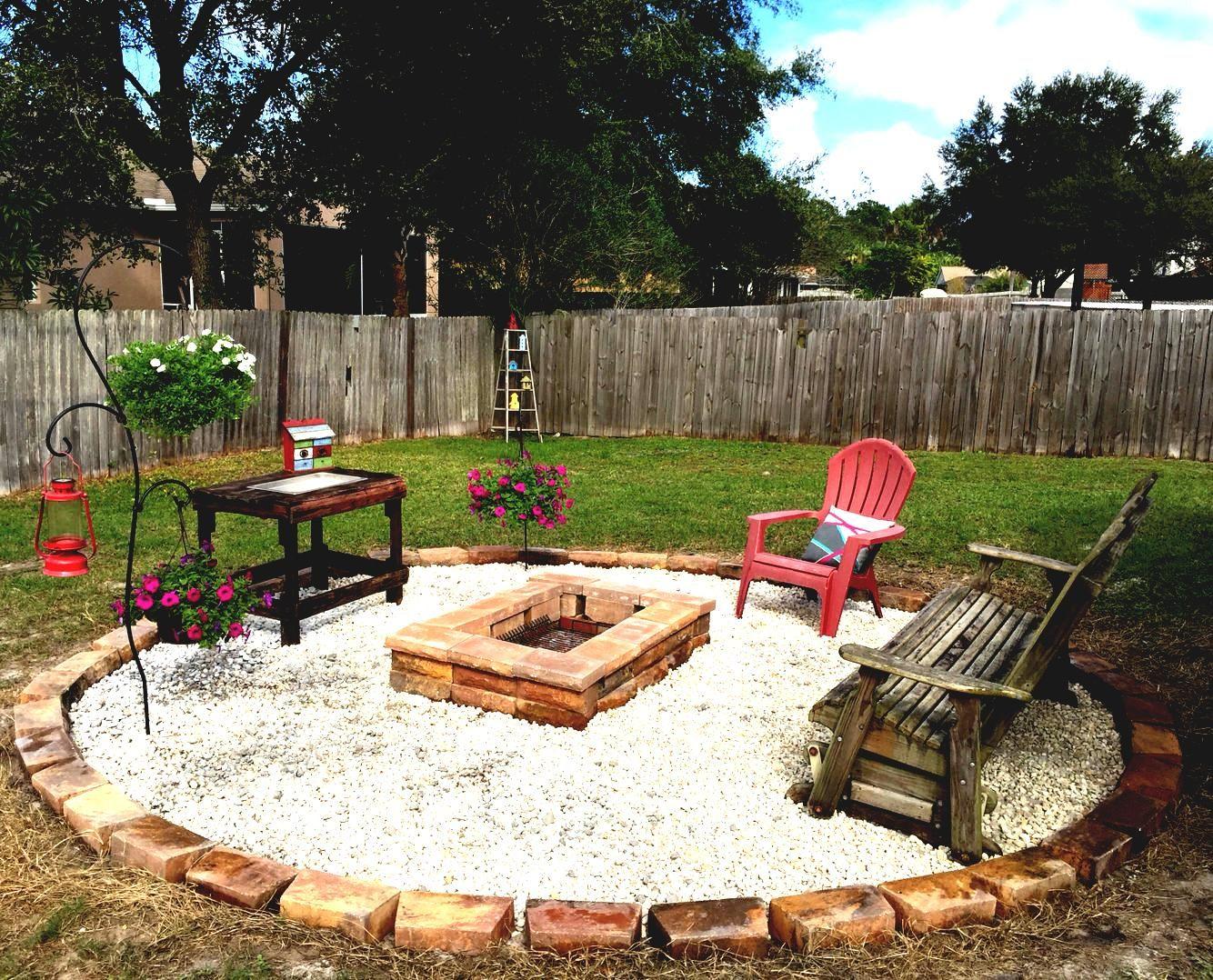 Gedeckte Feuerstelle Im Boden Drainage Ideen Pinterest Landschaftsbau Gartendeko Backyard Firepit Area Backyard Fire Fire Pit Backyard