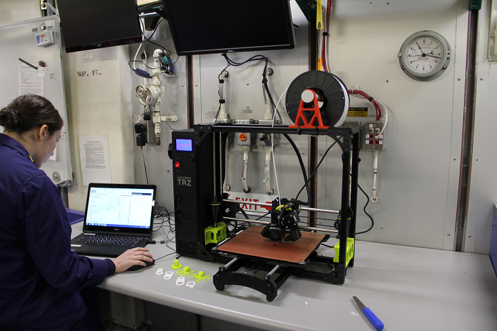 US Coast Guard Researching Ways to Use 3D Printing to