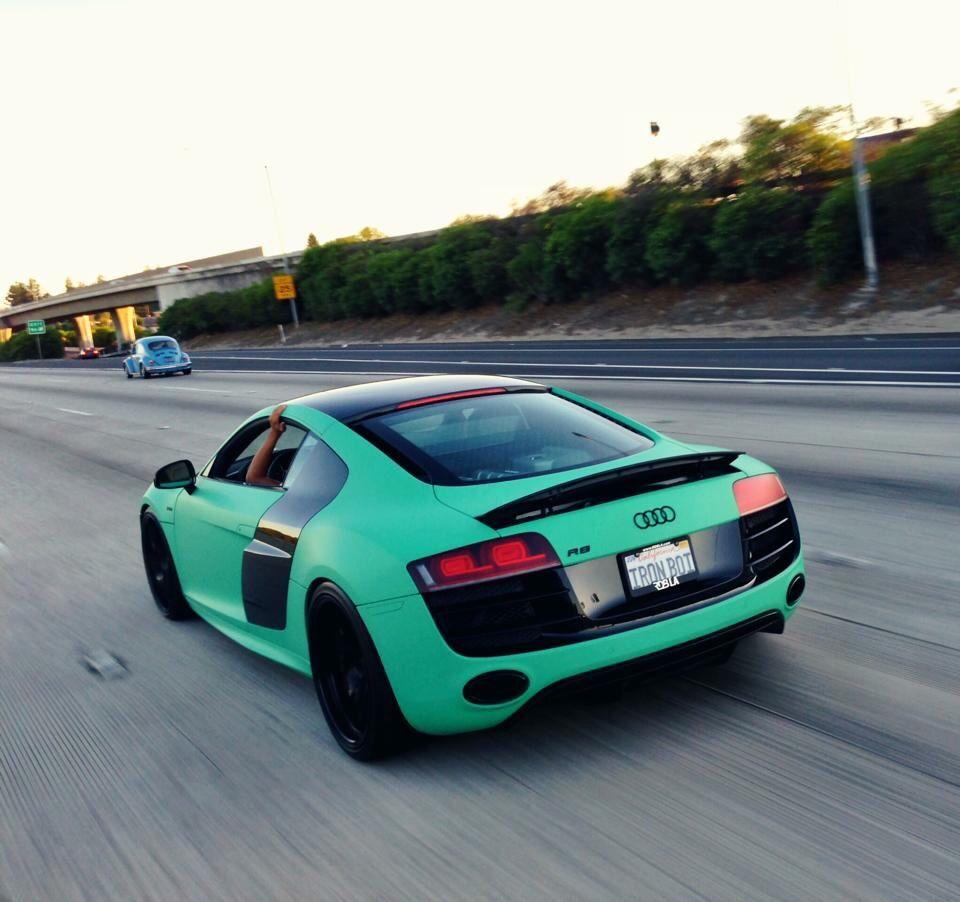 Audi R8 New Stock Color Matte Emerald Green