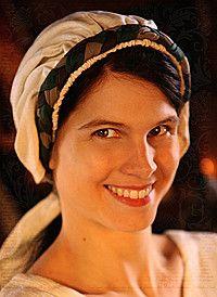 Mittelalter Haarband Baumwolle