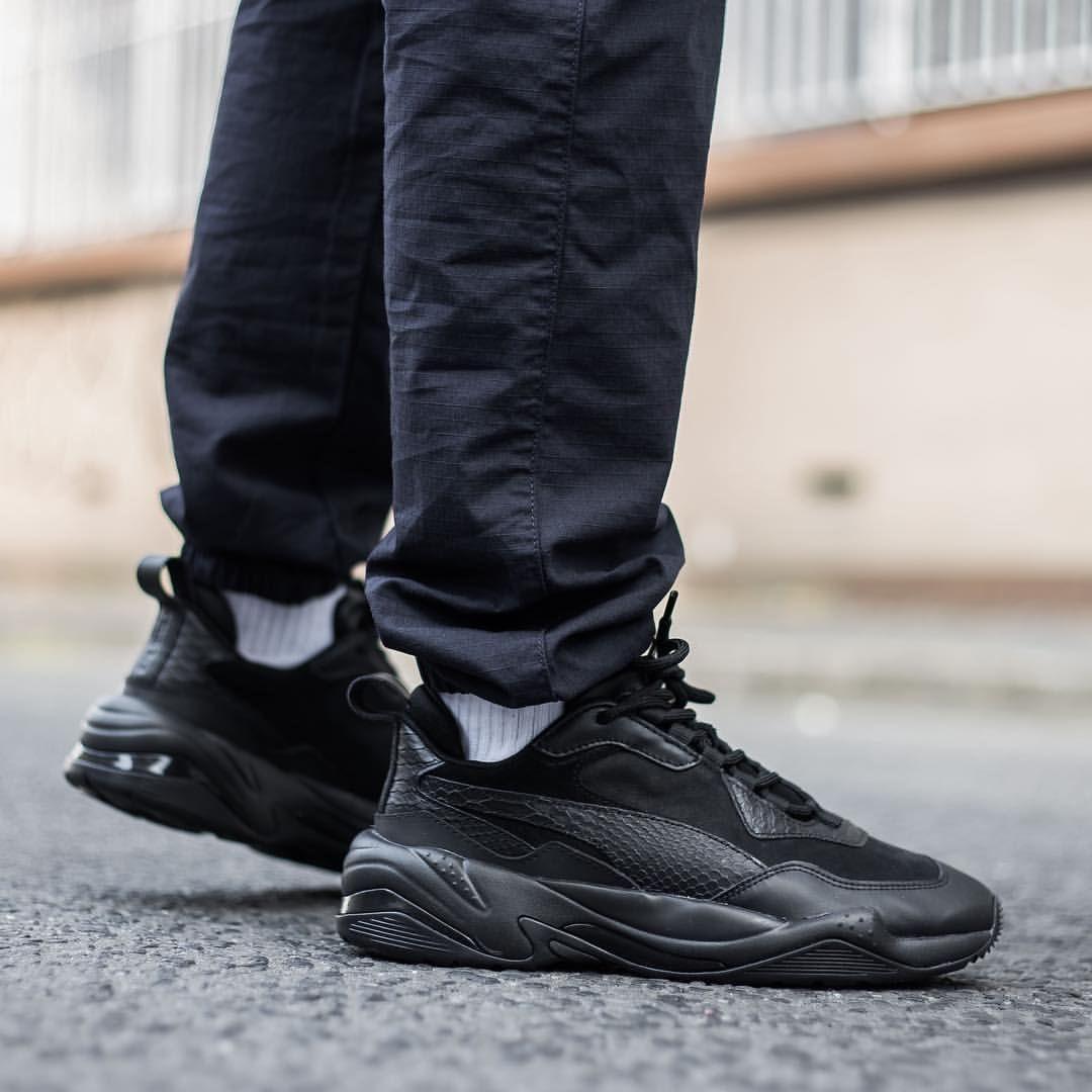 Puma Thunder Desert: Black   Sneaker