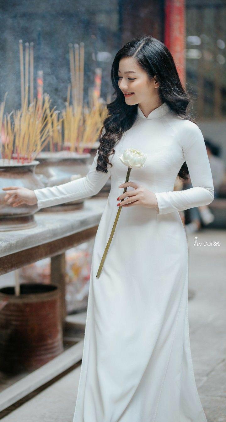 Pin on Ao Dai Vietnamese Dress