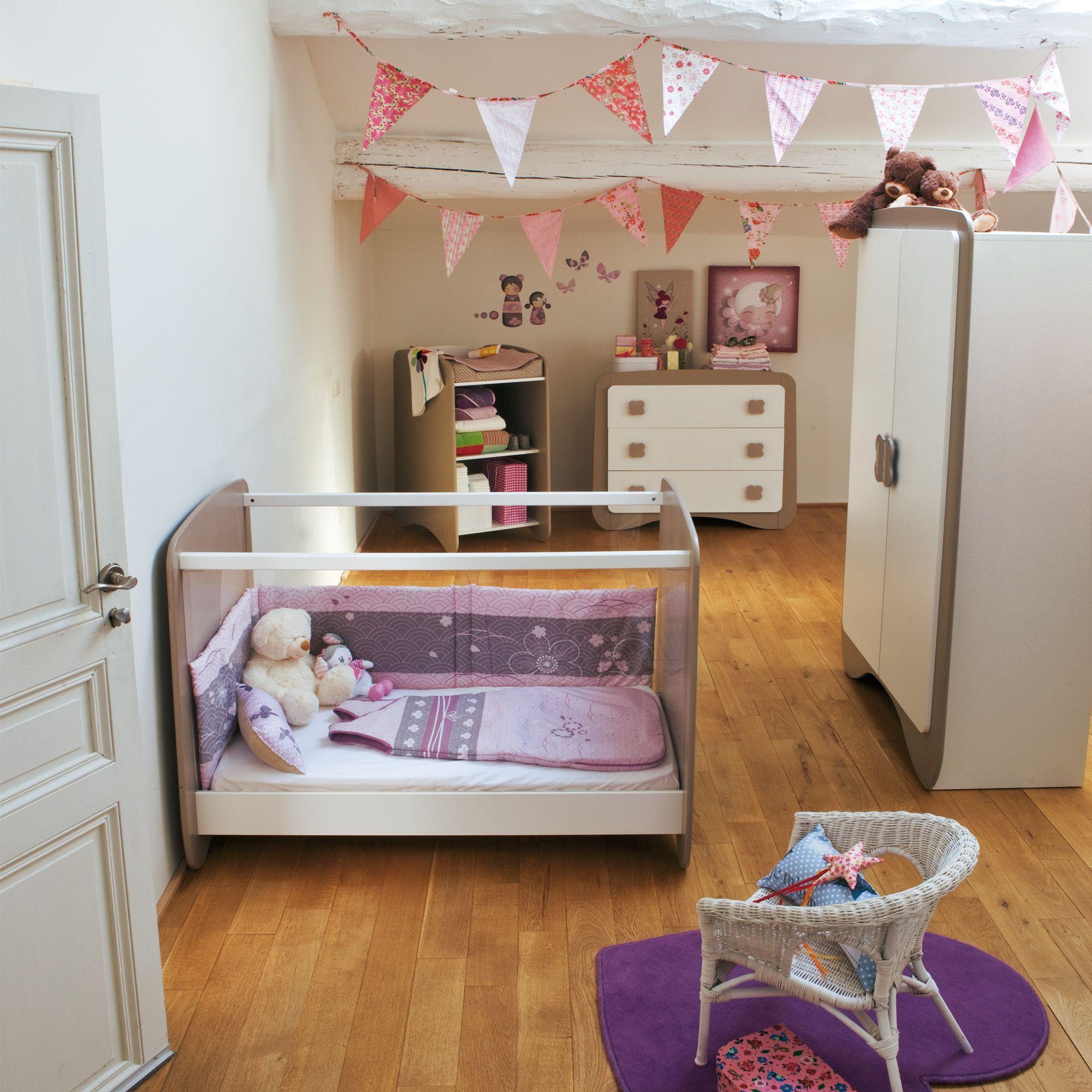 gris butterfly les chambre enfants