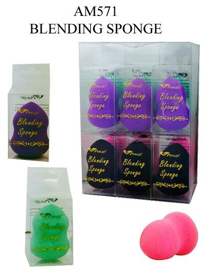 1PC Amuse Cosmetics Beauty Makeup Foundation Blending Sponge Blender Puff AM571 #AmuseCosmetics #ebay