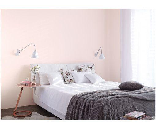 Wandfarbe Zarte Romantik Schlafzimmer Farben Schlafzimmer