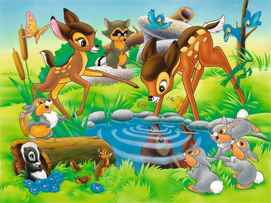 Pin Von Delicada Art Auf Bambi Bambi Disney Disney Kunst Walt Disney Animation Studios