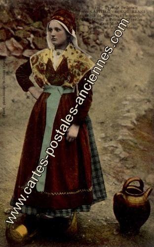 Carte postales anciennes Castillon en couserans