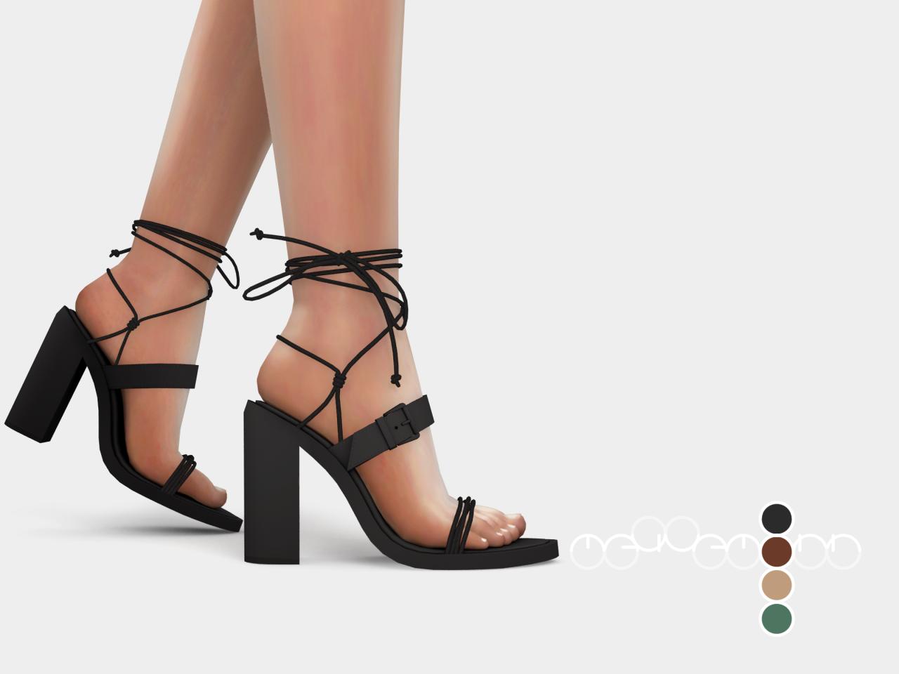 mauvemorn:  Ann Demeulemeester Heeled Sandals ( 1.
