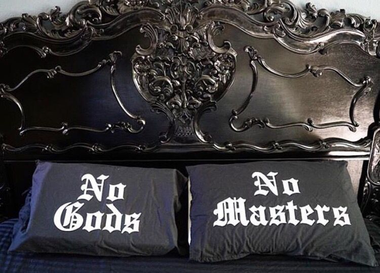 Modern Gothic Home Decor goth pillow cases from blackcraftcult | home sweet horror