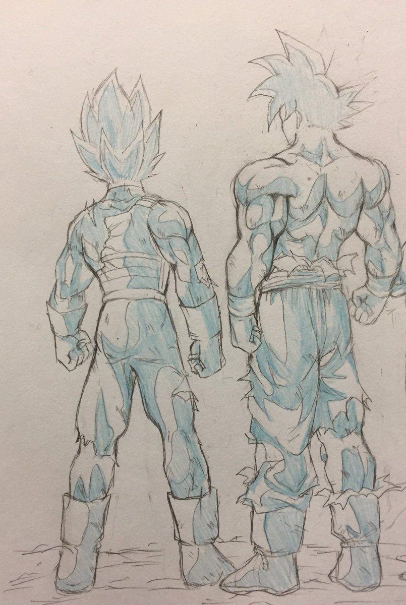 Goku Migatte no Gokui & Vegeta Migatte Blue | Dragon ball ...
