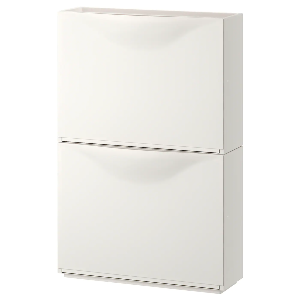 IKEA - TRONES Shoe/storage cabinet, White