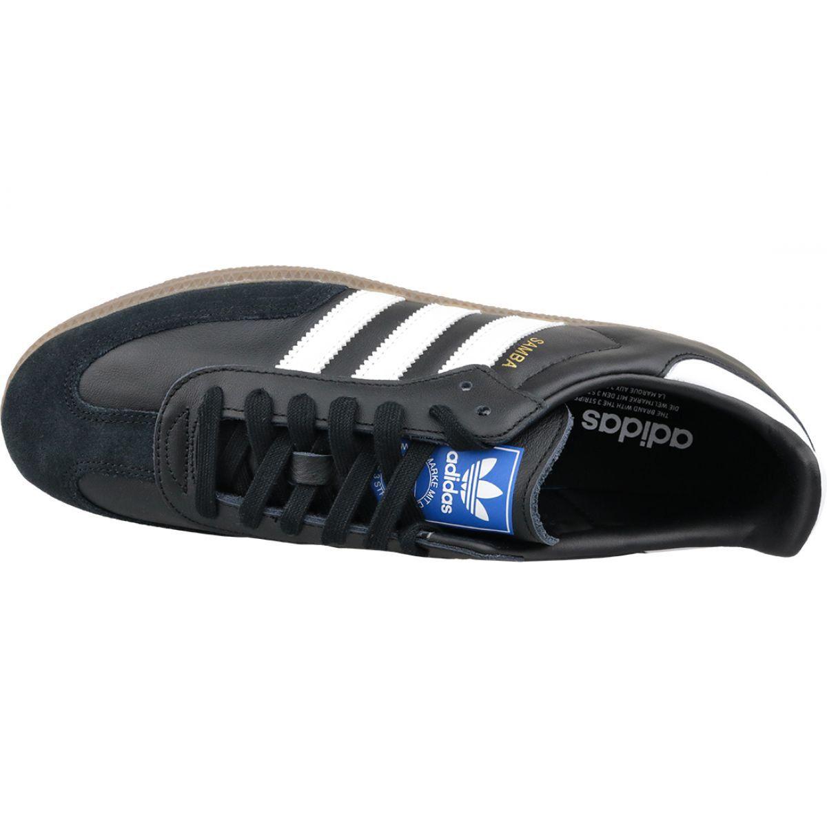 Czarne Buty adidas Samba Og M B75807 | Sportowe męskie w