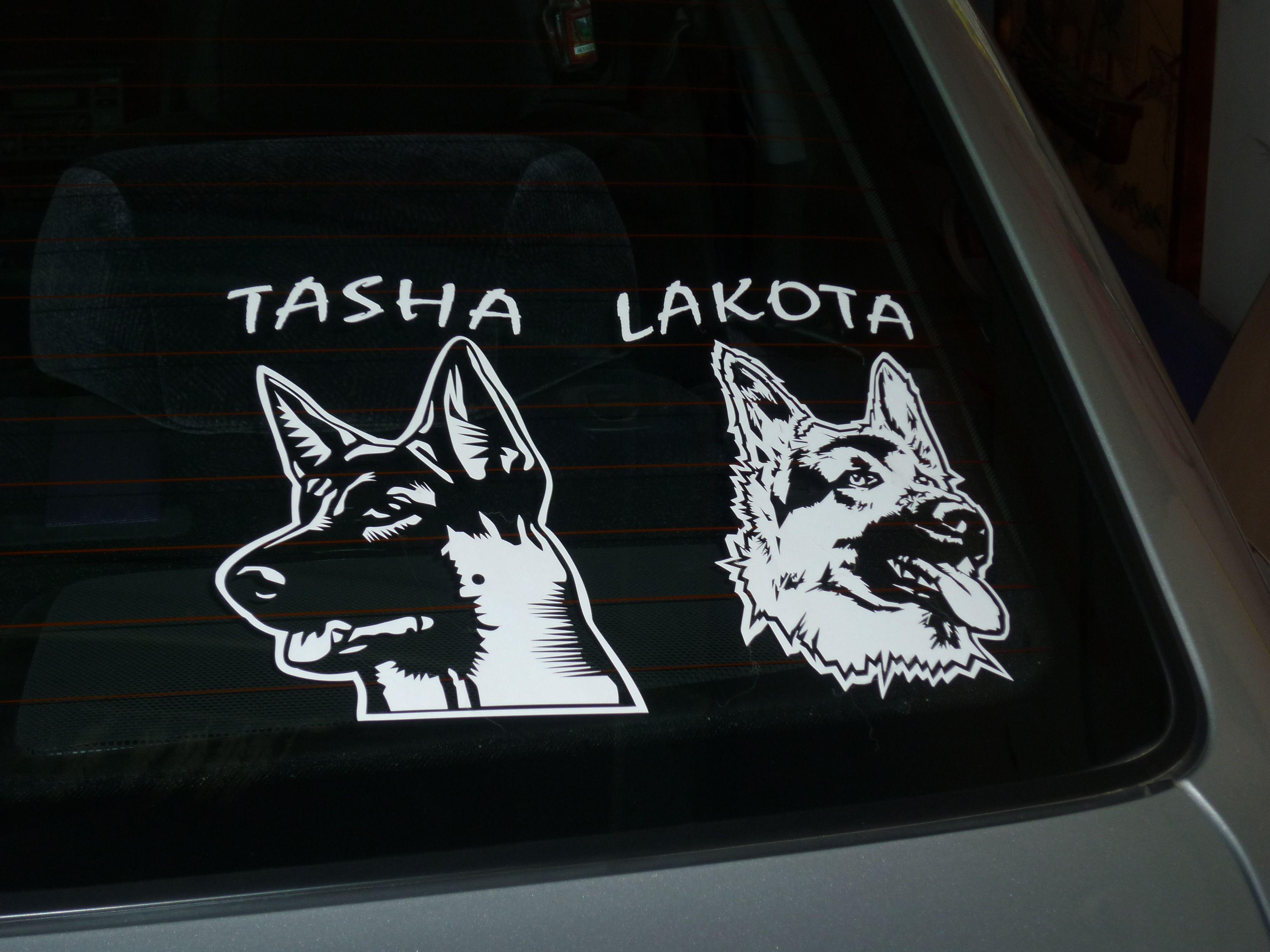 German Shepherd Decals Car Window Stickers Decal Junky Pastor Aleman Vinilo Pastor [ 2736 x 3648 Pixel ]