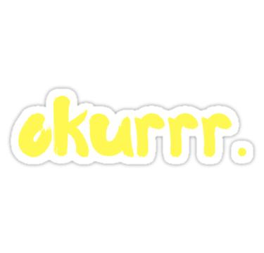 Okurrr By Cardi B Sticker By Dariabeyger Cardi B Cardi Cute Stickers