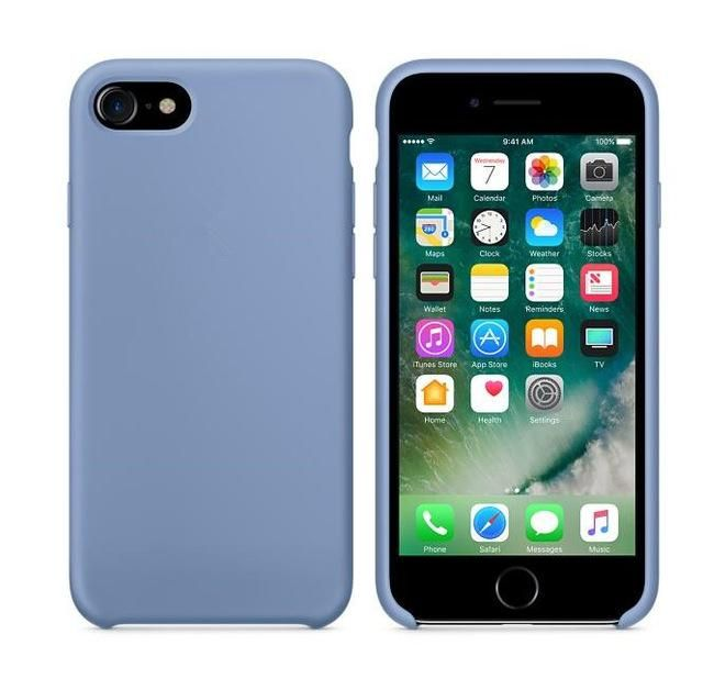 Silicone Case Back Case Cover For iPhone 6 6S 7 Plus