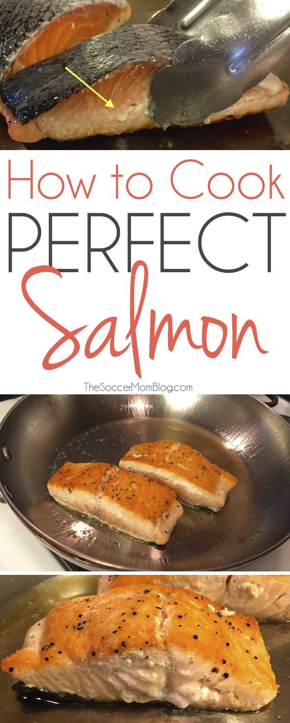 Foolproof Method To Cook Perfect Salmon (every Time!)