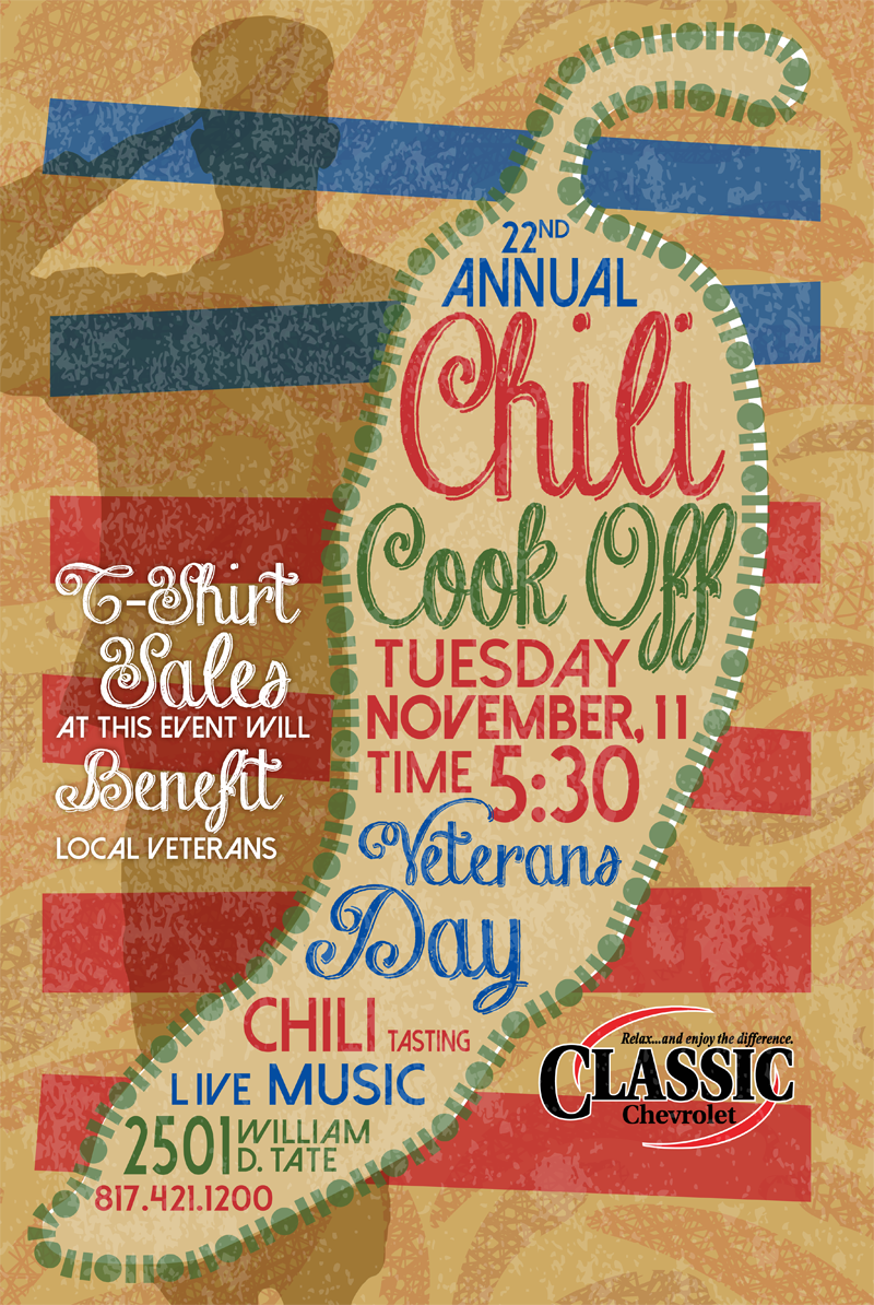 The 22nd Annual Classic Chili Cook Off At Classic Chevrolet Is November  11! Several Area Nonprofit Organizations, Including Our Chamber Ambassadors  And ...