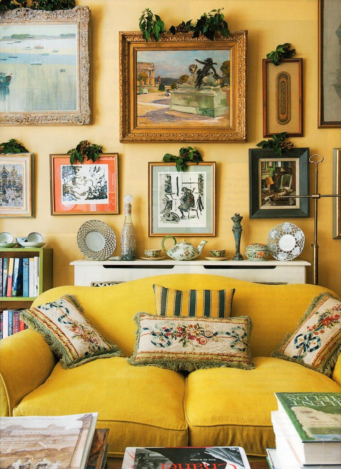 House Beautiful: Accent Yellow | ZsaZsa Bellagio - Like No Other ...
