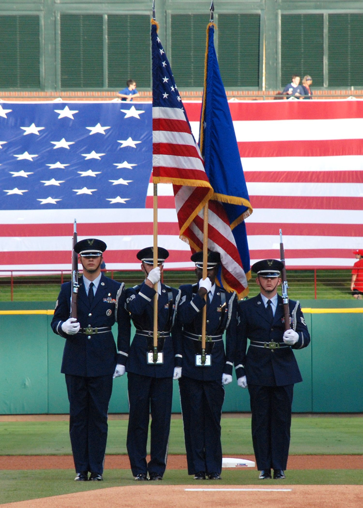 Articles about color guard - United States Air Force Color Guard