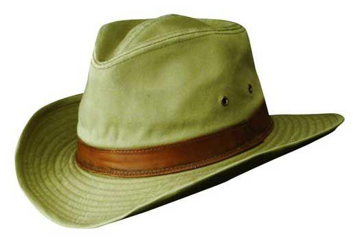 Dorfman Pacific - Twill Outback Hat  c4de24fde26