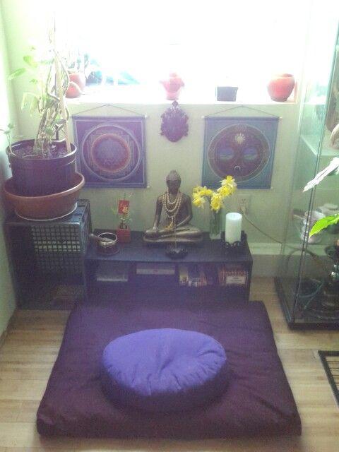 My new meditation space. | Yoga | Pinterest | Meditation space ...