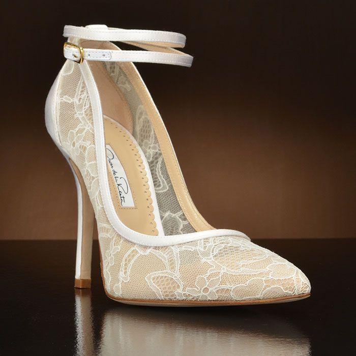 Designer Oscar De La A Wedding Shoes At My Gl Slipper