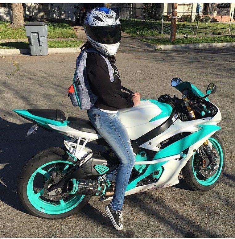 real women on their sportsbikes