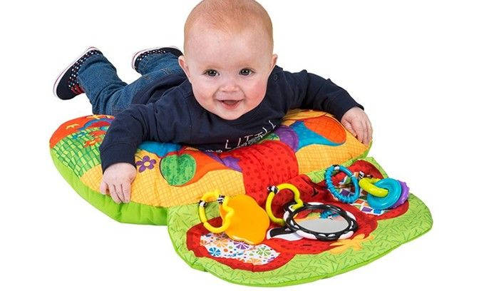 Playgro activiteiten kussen olifant - Baby Product van het Jaar
