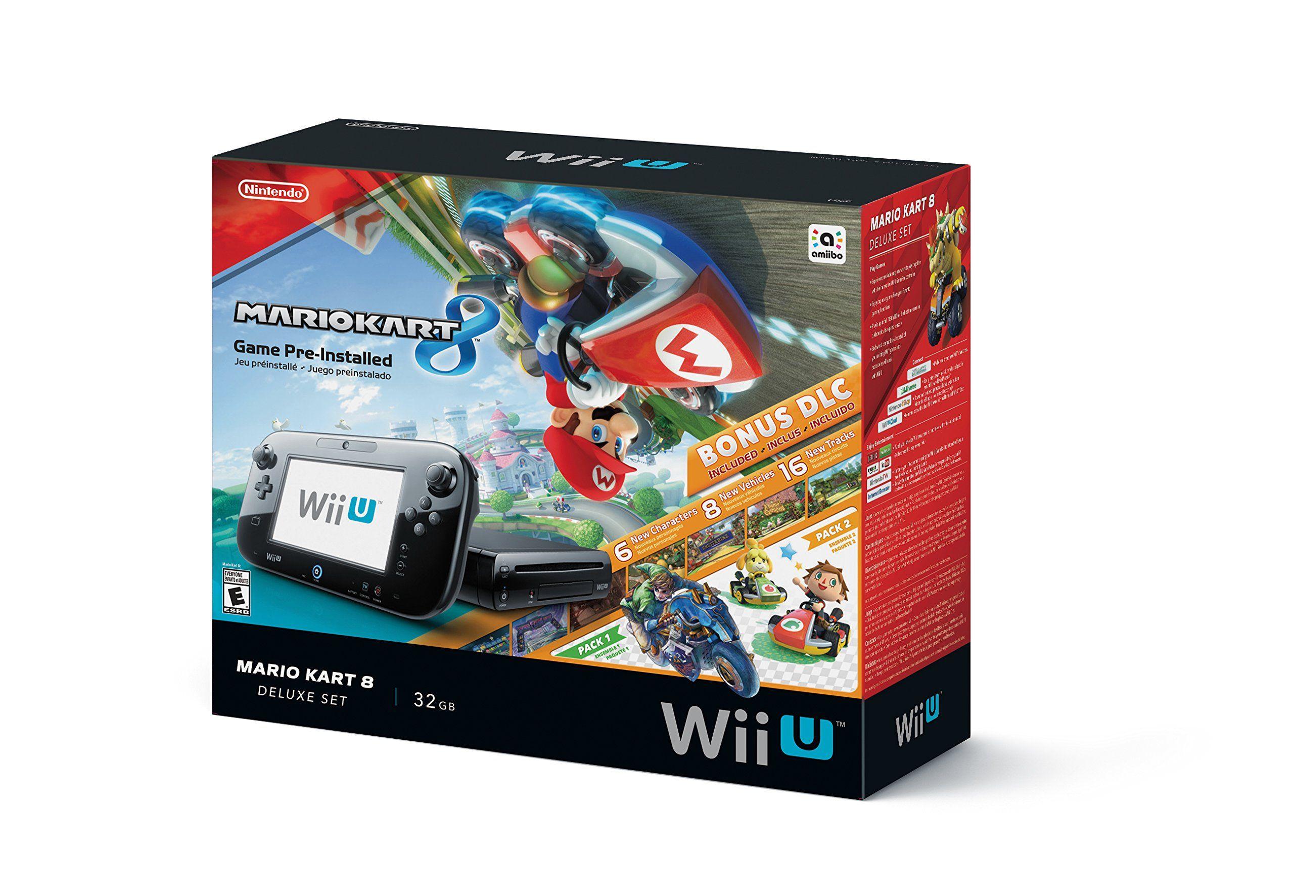 Nintendo Wii U 32gb Mario Kart 8 Pre Installed Wii U Is The Revolutionary Console From Nintendo Featuring High Mario Kart 8 Mario Kart Nintendo Mario Kart