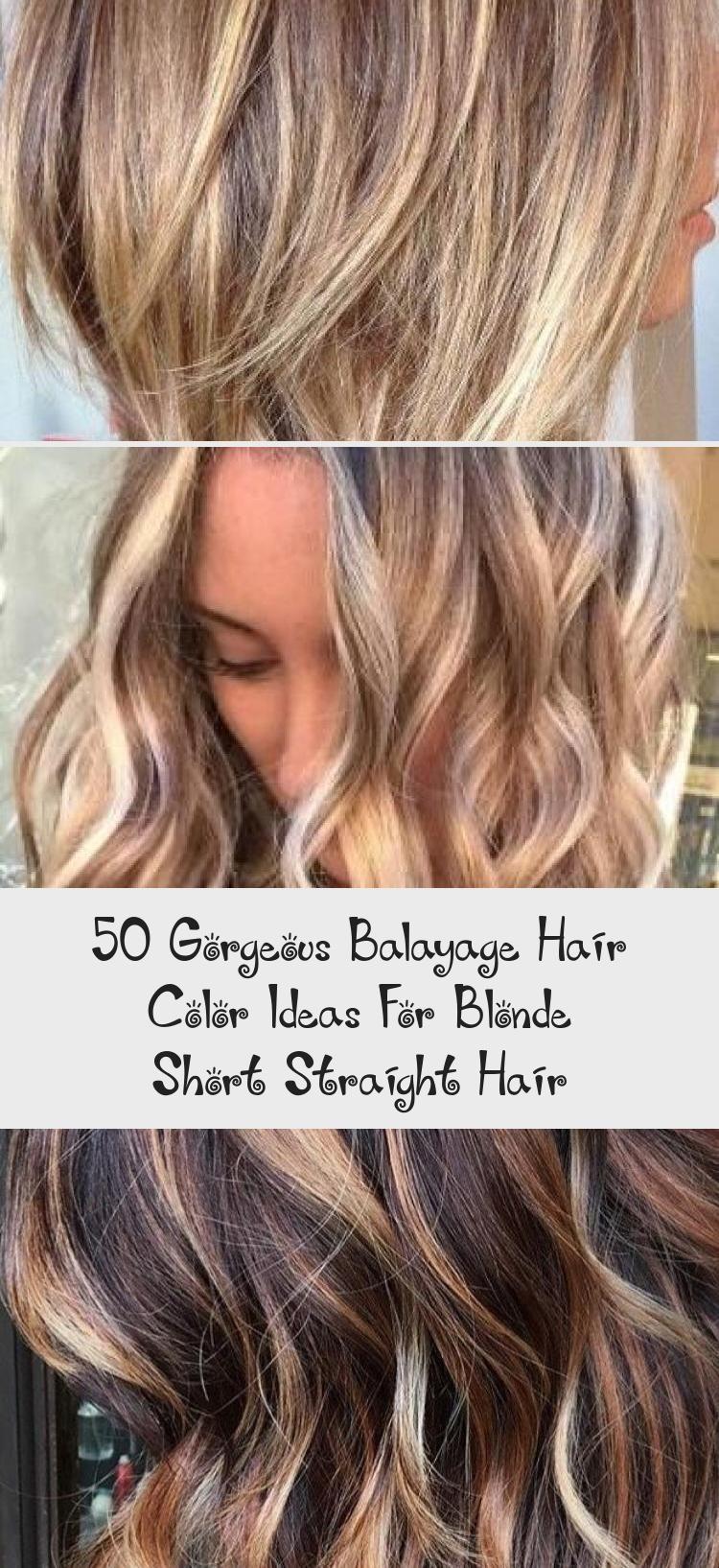 50 Gorgeous Balayage Hair Color Ideas For Blonde Short Straight Hair Balayagehairpastel Balayagehairvid In 2020 Balayage Hair Short Straight Hair Hair Color Balayage