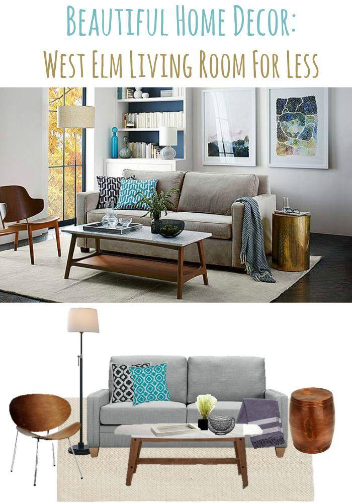 Beautiful Home Decor Ideas West Elm Living Room For Less