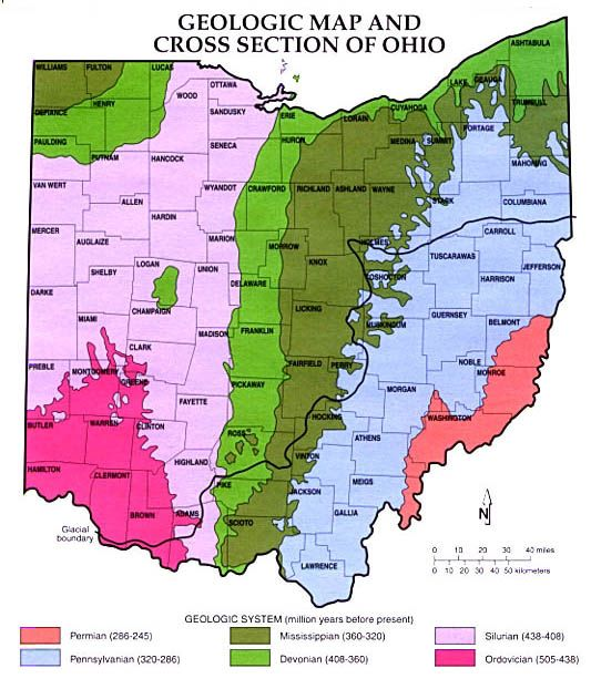 Ohio Geology Map Google Search Dad S Favorites Pinterest